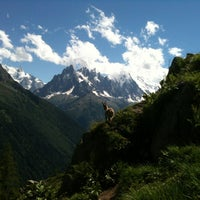 Photo taken at Les Grands Montets by Eve M. on 7/9/2012