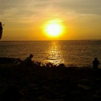Photo taken at Pantai Senggigi by desi a. on 9/12/2012