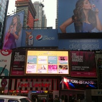 Photo taken at MTV 44 ½ Times Square Billboard by Frank B. on 4/23/2012