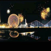 Photo taken at Blackpool Illuminations by Muttley A. on 9/7/2012