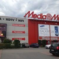 Photo taken at Media Markt by Adrien on 6/21/2012