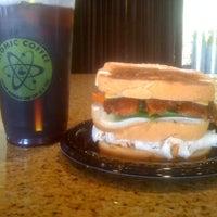 Photo taken at Atomic Coffee by Matt F. on 8/31/2012