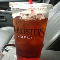 Photo taken at McAlister's Deli by Annie D. on 6/6/2012
