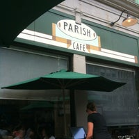 Photo taken at Parish Cafe & Bar by Hal T. on 7/1/2012