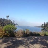 Photo taken at Lake Miramar Reservoir by Jessica E. on 5/21/2012