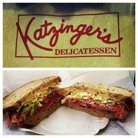 Photo taken at Katzinger's Delicatessen by Kristian V. on 7/3/2012