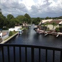 Photo taken at Lake Tarpon Resort by Brenda R. on 8/16/2012