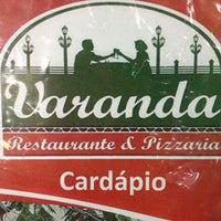 Photo taken at Varanda - Restaurante e Pizzaria by Morgana D. on 4/16/2012