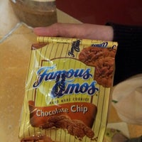 Photo taken at Famous Amos by baba on 7/27/2012