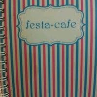 Photo taken at Festa Cafe by Acoustic L. on 8/15/2012