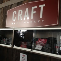 Photo taken at Craft Beer Market by Kevin B. on 9/7/2012