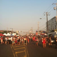 Photo taken at Night Market Washington Avenue by Melanie on 6/28/2012