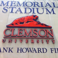 Photo taken at Frank Howard Field at Clemson Memorial Stadium by Adam R. on 6/21/2012