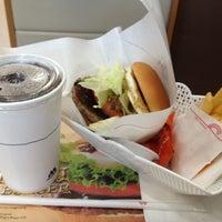 Photo taken at MOS Burger by Ben L. on 2/21/2012