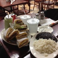 Photo taken at Sophie's Cuban Cuisine by Jorge G. on 5/9/2012