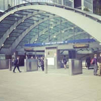 Photo taken at Canary Wharf by Mwachala N. on 6/8/2012