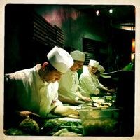 Photo taken at Blue Ribbon Sushi by Mark J. on 5/20/2012