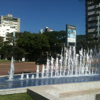 Photo taken at Praça Diogo de Vasconcelos (Praça da Savassi) by Pedro C. on 6/4/2012