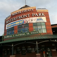 Photo taken at Arm & Hammer Park by John on 7/5/2012