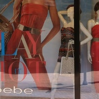 Photo taken at bebe by Yola S. on 4/16/2012