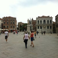 Photo taken at Campo San Stefano by Simon M. on 7/21/2012
