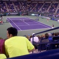 Photo taken at Indian Wells Tennis Garden by Maria L. on 3/9/2012