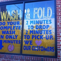 Photo taken at Columbia Pike Coin Laundromat by Chris A. on 2/13/2012