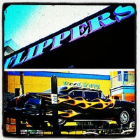Photo taken at Flippers Pizzeria by Cris M. on 7/6/2012