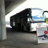 Photo taken at Swebus Stockholm - Arlanda by Nuno F. on 6/10/2012
