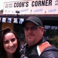 Photo taken at Cook's Corner by Rob V. on 5/4/2012