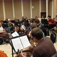 Photo taken at Music Building and Recital Hall (MRH) by Hooman on 2/24/2012