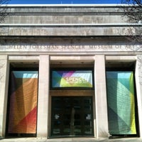 Photo taken at Spencer Museum Of Art by Colin L. on 3/1/2012