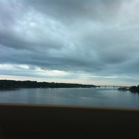 Photo taken at Pearl Harbor Memorial Bridge by Kirk on 5/22/2012