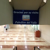 Photo taken at Pabellón del Valle by Angel E. on 3/23/2012