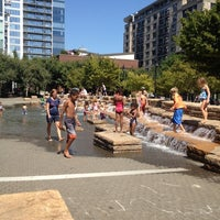 Photo taken at Jamison Square Park by John G. on 8/15/2012