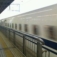 Photo taken at 新横浜駅 新幹線の中 by Yoshihito I. on 7/2/2012