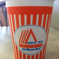 Photo taken at Whataburger by Becky on 7/20/2012