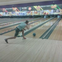 Photo taken at AMF Pikesville Lanes by евгения on 6/1/2012