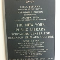 Photo taken at New York Public Library - Schomburg Center for Research in Black Culture by danielle p. on 8/29/2012