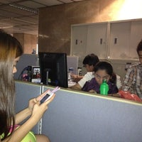 Photo taken at Bank of the Philippine Islands Head Office by Judie M. on 3/28/2012