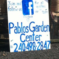 Photo taken at Pablos Garden Center by Red B. on 6/13/2012