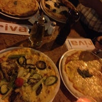 Photo taken at Riva Bar & Pizzeria by Abdulmajeed S. on 8/18/2012