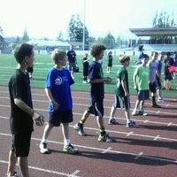 Photo taken at Sunset Stadium by Matthew C. on 5/17/2012