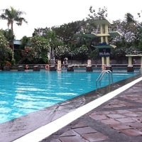 Photo taken at Graha Residence Swimming Pool by Sylvia L. on 5/14/2012