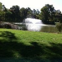 Photo taken at ECU Lake by Melody H. on 3/19/2012