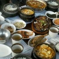 Photo taken at Cho Dang Tofu & BBQ by Suzy R. on 5/14/2012