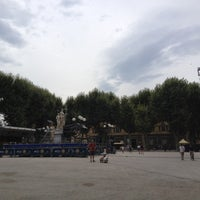 Photo taken at Piazza Napoleone by Wiellukuh on 7/23/2012