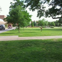Photo taken at South Oval by Clayton M. on 5/2/2012