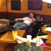 Photo taken at Michelangelo's Coffee House by Caroline S. on 6/9/2012