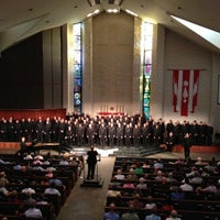 Photo taken at Cathedral of Hope by Michael M. on 7/2/2012